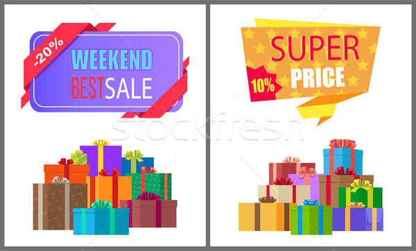 Hétvége legjobb vásár különleges exkluzív ajánlat Stock fotó © robuart