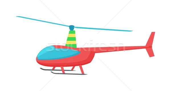 おもちゃ 色 ヘリコプター 明るい 赤 2 ストックフォト © robuart
