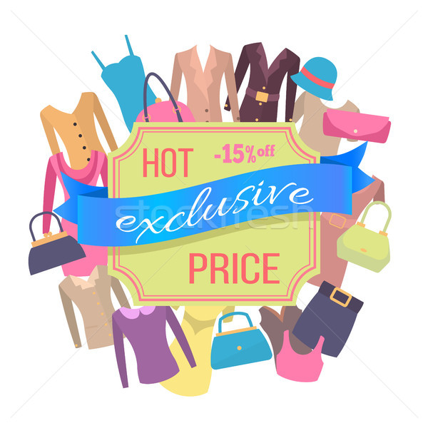 Fifteen Percent Off Best Exclusive Discount Price Stock photo © robuart
