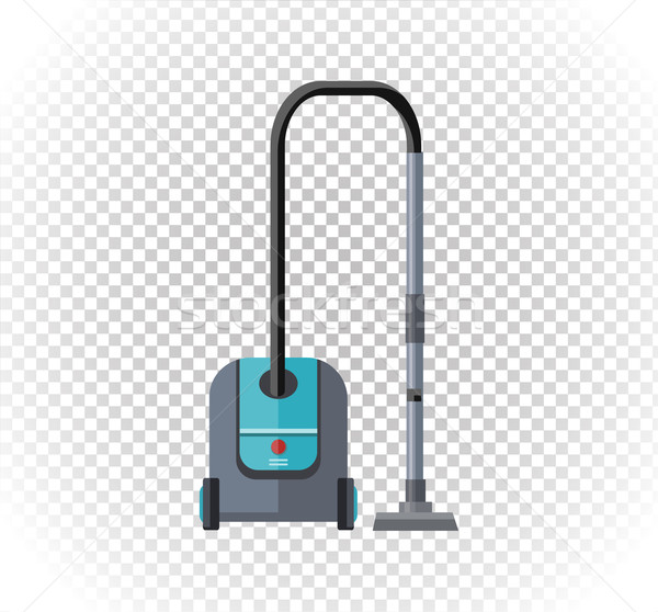 Vacuum Cleaner Design Flat Icon Stock photo © robuart