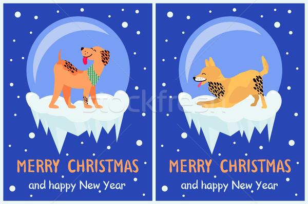 Foto d'archivio: Allegro · Natale · buon · anno · simboli · simbolo · felice