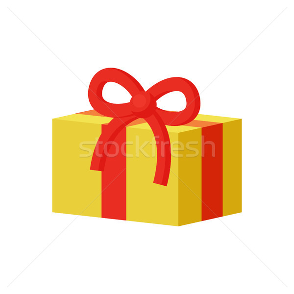 Present Gift Boxes Set Decorated Ribbons with Bows Stock photo © robuart