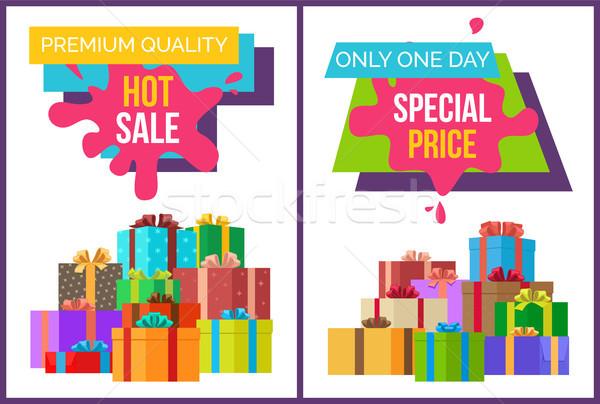 Prémium minőség forró vásár szett különleges Stock fotó © robuart