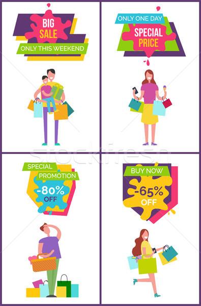 ビッグ 販売 週末 セット 特別 価格 ストックフォト © robuart