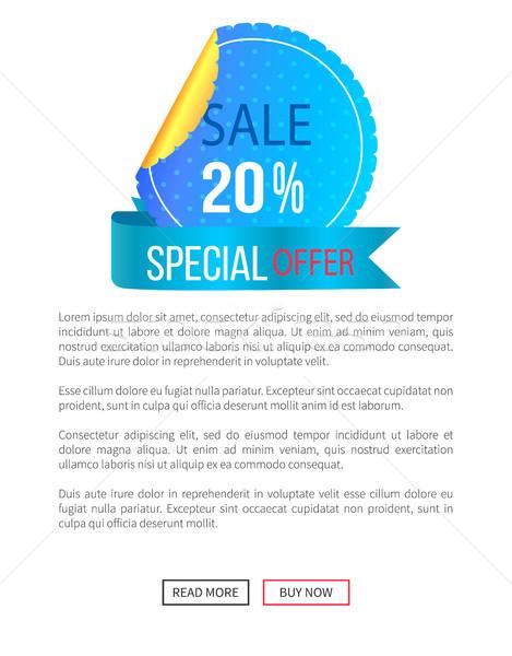 Miglior prezzo sconto etichetta poster 30 Foto d'archivio © robuart