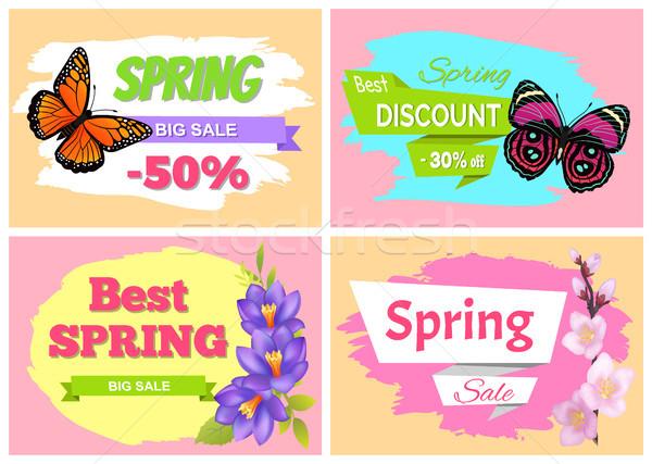 Spring Big Sale Best Discount Preomo Price off set Stock photo © robuart