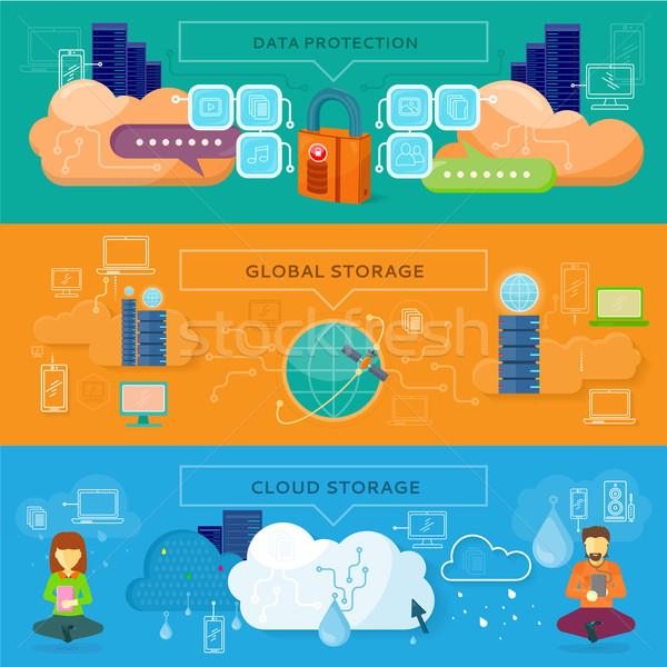 Data Protection, Global Storage Stock photo © robuart