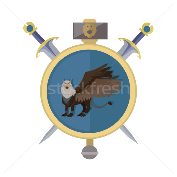 Griffin Avatar Icon Stock photo © robuart