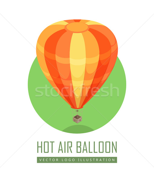 Balloon Vector Icon in Isometric Projection Stock photo © robuart