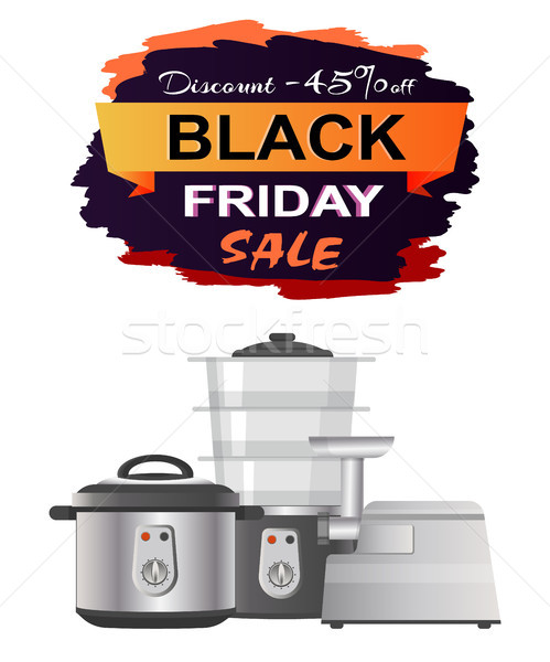 Black Friday Sale Clearance Vector Illustration Stock photo © robuart