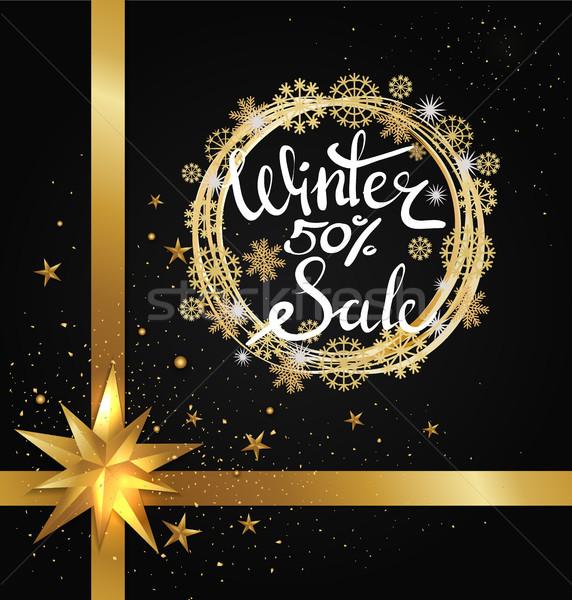 ストックフォト: 冬 · 販売 · 50 · ポスター · 星