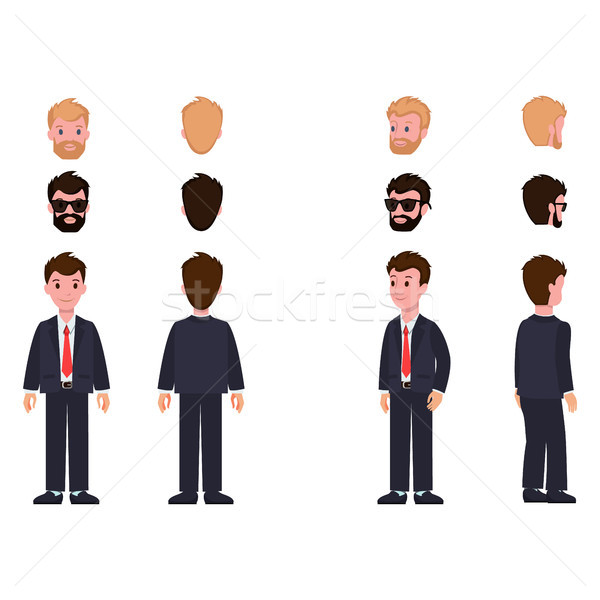 Character Collection of Items Vector Illustration Stock photo © robuart