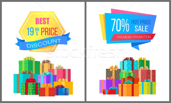 En iyi fiyat indirim özel özel teklif satış Stok fotoğraf © robuart