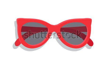 Modern Sunglasses with Round Lenses Vector Banner Stock photo © robuart