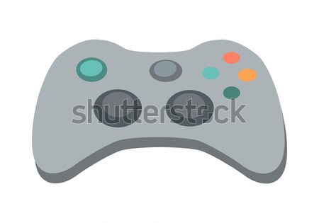 Gamepad Vector Illustration in Flat Design Stock photo © robuart