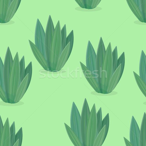 Сток-фото: цветок · иконки · дизайна · зеленый · икона