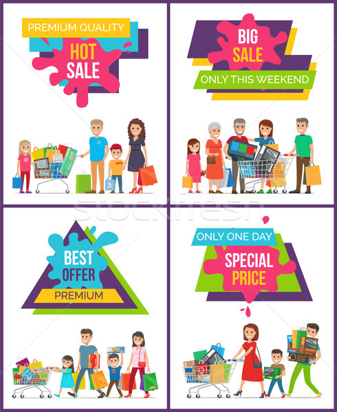 Hot Sale Special Price People Vector Illustration Stock photo © robuart