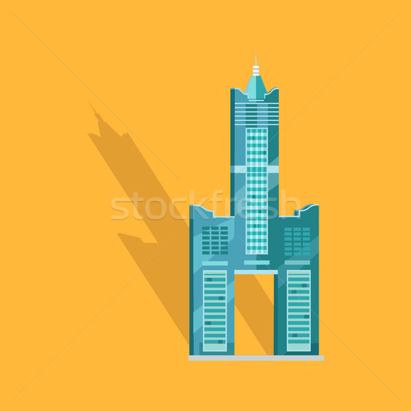 Sky Tower Skyscraper Tanteks in Taiwan Graphic Stock photo © robuart