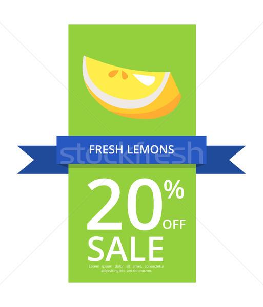 свежие лимоны 20 продажи цитрусовые Сток-фото © robuart