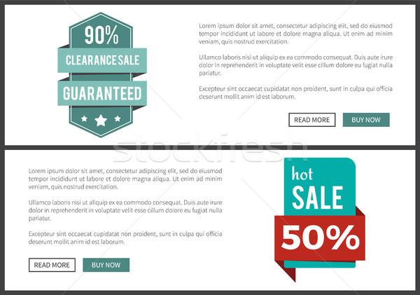 90 Clearance and Hot Sale on Vector Illustration Stock photo © robuart