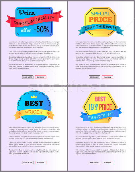 Sale Special Offer Order Buy Now Web Poster Vector Stock photo © robuart