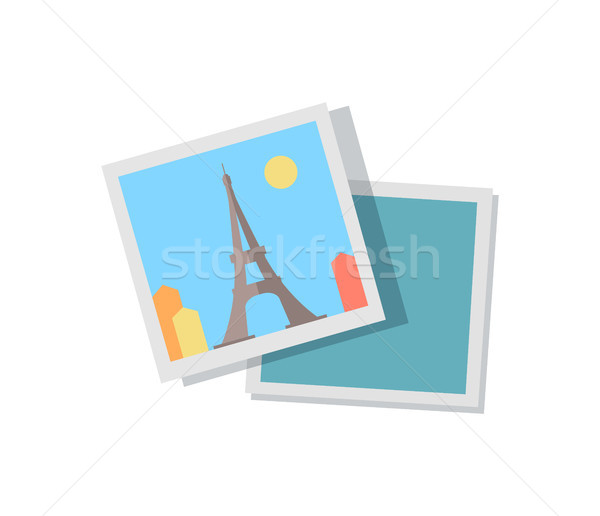 画像 旅 パリ エッフェル塔 旅行 周りに ストックフォト © robuart