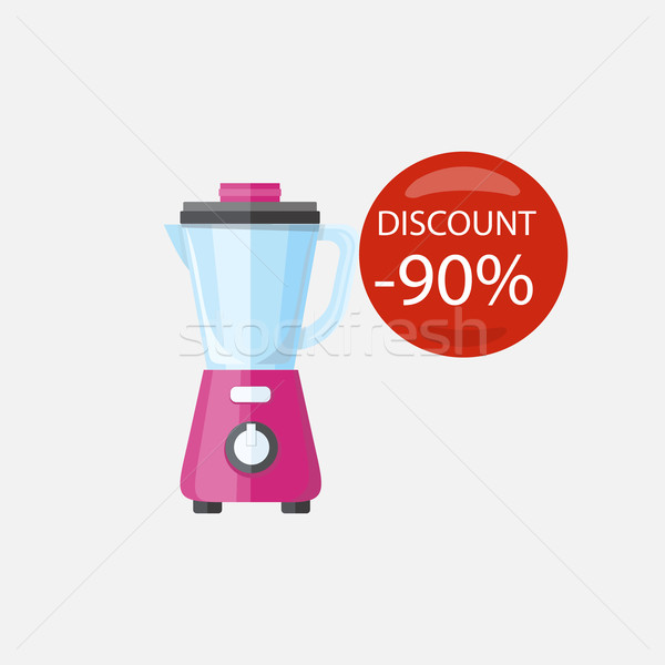 Sale of Household Appliances Blender Stock photo © robuart
