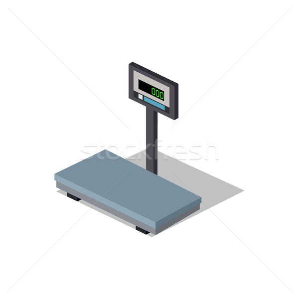Scales flat Design. Weight of Goods Stock photo © robuart