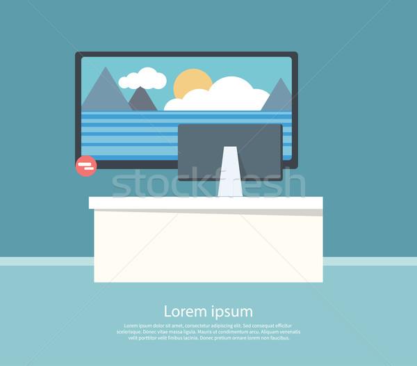 Venta supervisar pantalla diseno negocios tecnología Foto stock © robuart