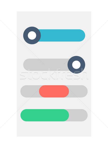 Regulator Website Button Element Stock photo © robuart