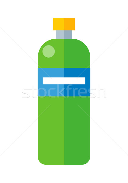 Green Plastic Bottle Stock photo © robuart