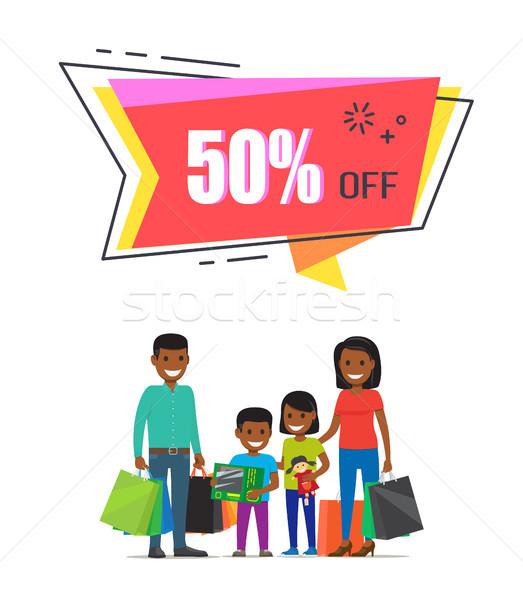 50 bens compras família Foto stock © robuart