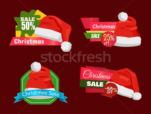 Szett prémium minőség fél ár promo Stock fotó © robuart