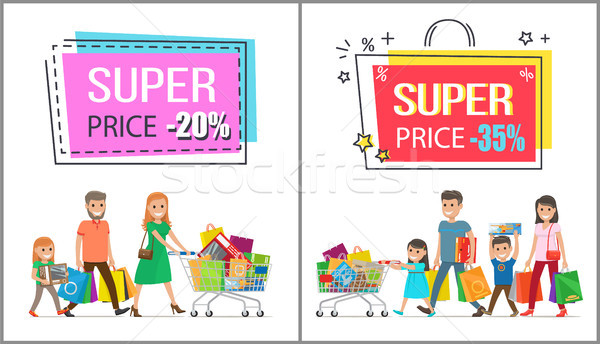 Super Price Reduction for Great Family Shopping Stock photo © robuart