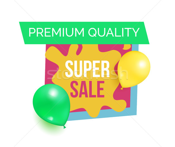 Premium Quality Hot Prices Promo Sticker Balloons vector