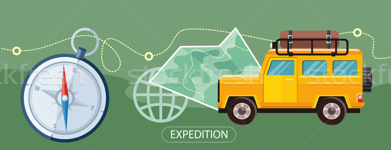 Expedition Concept Stock photo © robuart