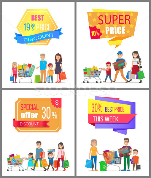 Sale Low Price Special Discount Super Choice Card Stock photo © robuart