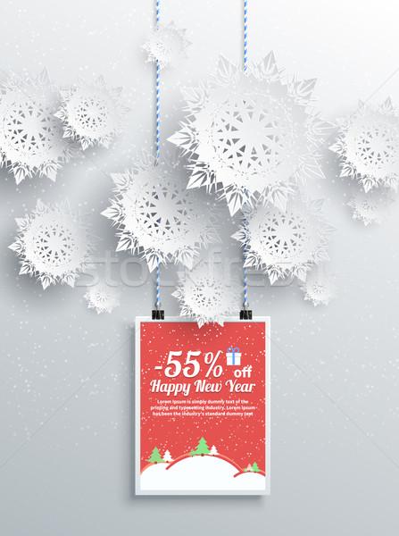 冬 クリスマス 販売 デザイン 要素 陽気な ストックフォト © robuart