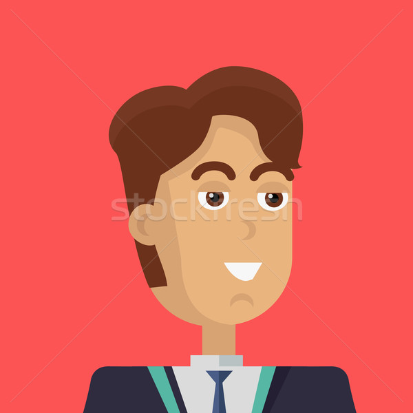 Young Businessman Icon. Stock photo © robuart