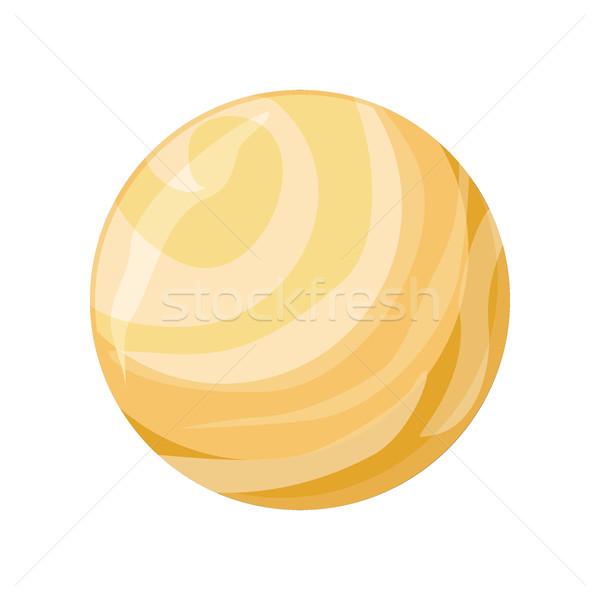 Planet Venus Icon Stock photo © robuart