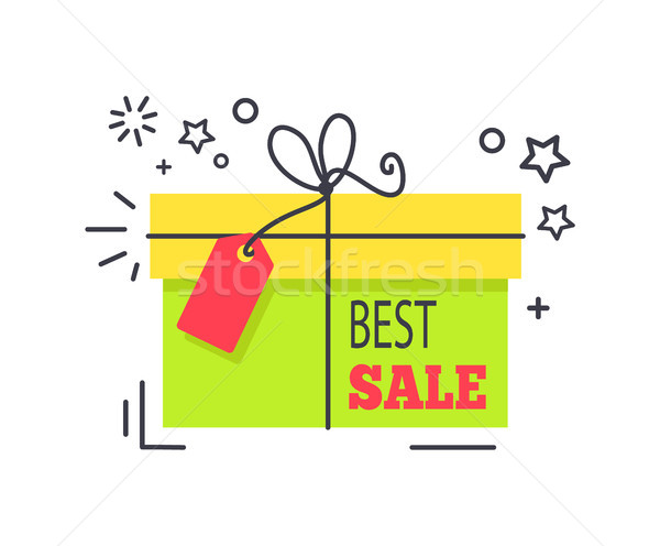 Special Offer Promo Sticker Shopping Packed Box Stock photo © robuart