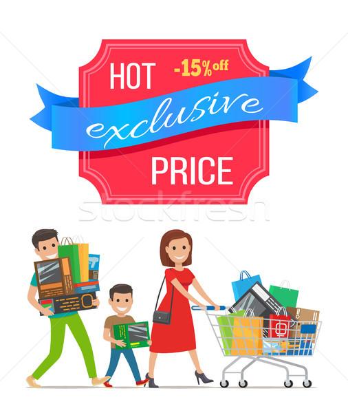 Caldo esclusivo prezzo 15 Foto d'archivio © robuart