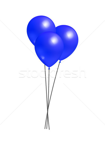 Balloons Big Bundle Party Decorations, Birthdays Stock photo © robuart