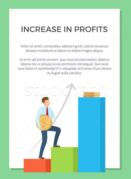 Increase in Profits Visualization Stock photo © robuart