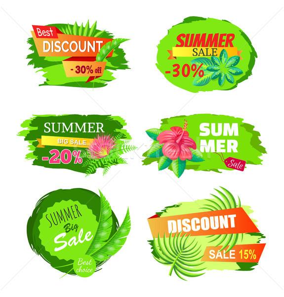 Legjobb árengedmény 30 el nyár nagy Stock fotó © robuart