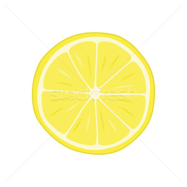 Lédús narancs szelet hozzávaló detoxikáló ízletes Stock fotó © robuart