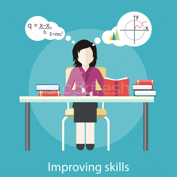 Improving Skills Stock photo © robuart