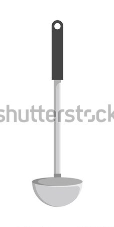 Soup Ladle Template Color Vector Illustration Stock photo © robuart