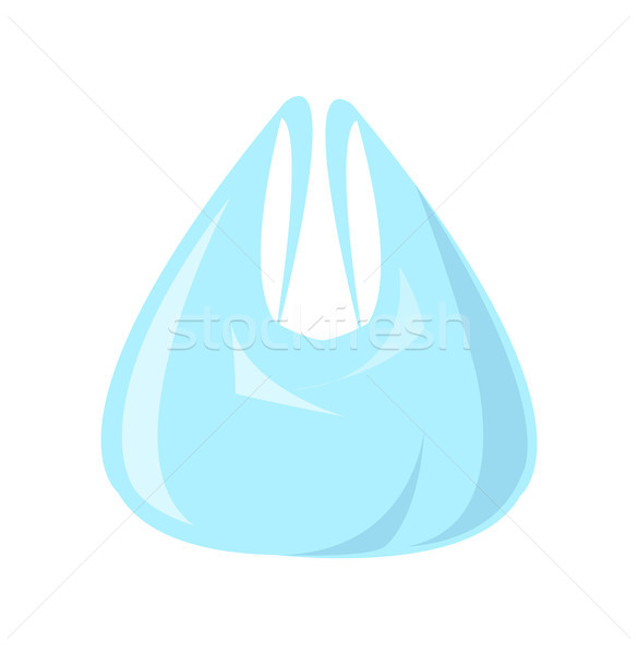 Polythene Bag for Shopping Vector Illustration Stock photo © robuart