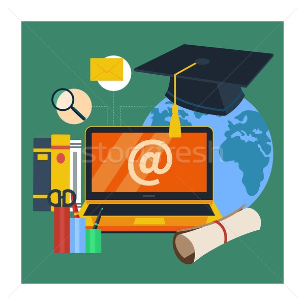 Online education, professional education Stock photo © robuart